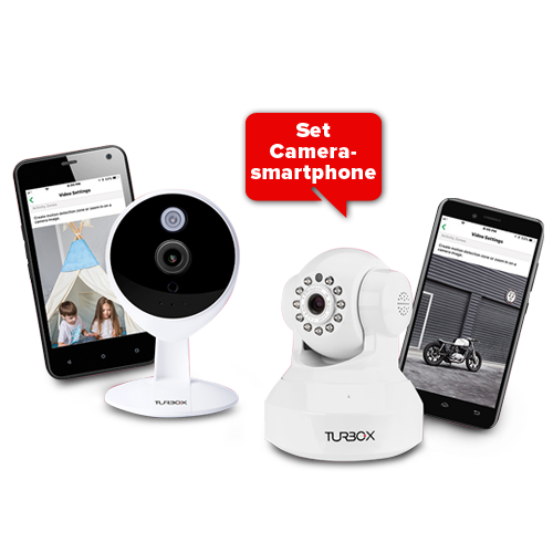 Smartphone and IP cam