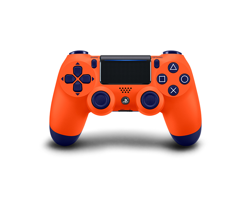 dualshock orange