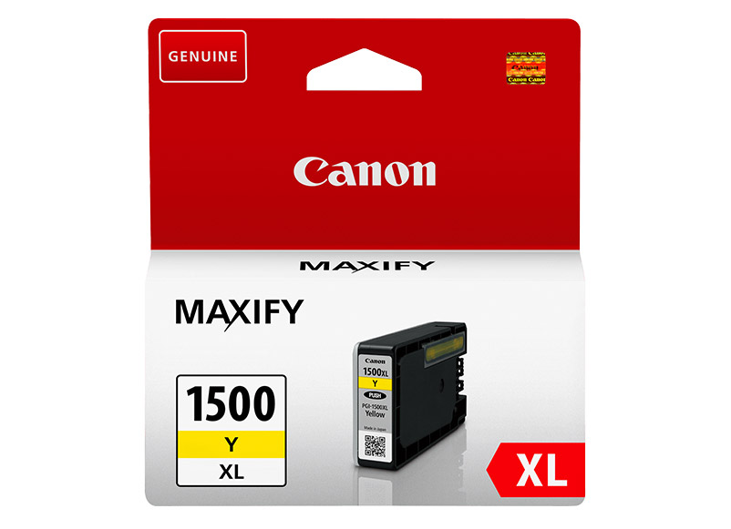 canon ink yellow