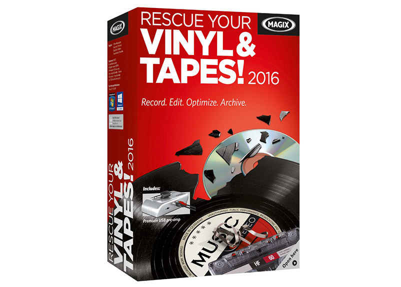 Magix Tape And Vinyl Rescuer