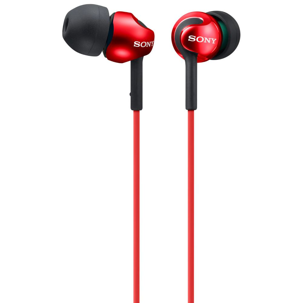 EARPHONES SONY MDR-EX110 RED
