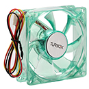 Turbo-X FAN 80mm Green 1682903