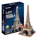 "CubicFun 3D Puzzle ""Eiffel Tower"" (Led) 82 τμχ 2596997_1"