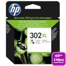 HP Μελάνι HP 302XL Colour 2608499