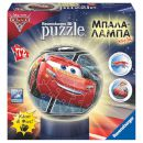 Ravensburger 3D Puzzle Μπαλα-Λαμπα Cars 3 72 Τεμ 2765144