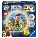 Ravensburger 3D Puzzle Μπαλα-Λαμπα Paw Patrol 72 Τεμ 2765179