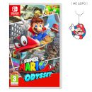 Nintendo Nintendo Switch Red & Blue Joy-con + Super Mario Odyssey 2790572_2