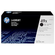 Toner HP 49X Black Dual pack