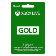 Microsoft Xbox Live 3-months Gold Card