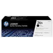 Toner HP 36A Black Dual pack