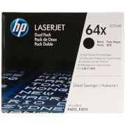 Toner HP 64X Black Dual pack