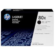 Toner HP 80X Black Dual pack