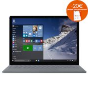 Microsoft Surface Platinum με Core i5/256GB Laptop (Core i5 7200U/8 GB/256 GB/Intel HD Graphics 620)