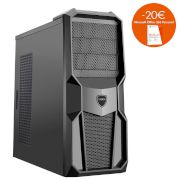 Turbo-X Cerberus GK230 Desktop (Intel Core i3 7100/8 GB/1 TB HDD/120 GB SSD/GT1030)