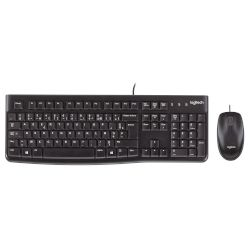 Logitech MK 120 Wired Desktop Combo