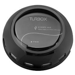 Turbo-X USB Hub-300 10-Port