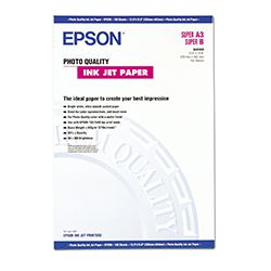 Epson Χαρτί Inkjet Photo Quality A3