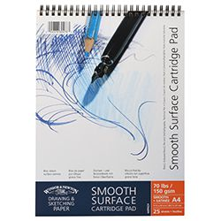 Winsor & Newton Μπλοκ Smooth Surface Sketch A4