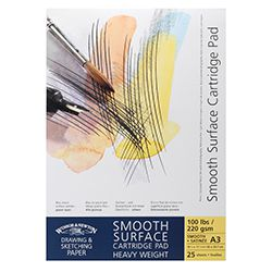 Winsor & Newton Μπλοκ Smooth Surface Sketch A3