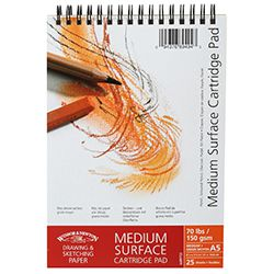 Winsor & Newton Μπλοκ Medium Surface Sketch A5