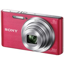 Sony Digital Camera Cybershot DSC-W830 Ρόζ