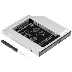 "Turbo-X Θήκη HDD Sata 2.5"" Caddy 12,7mm"