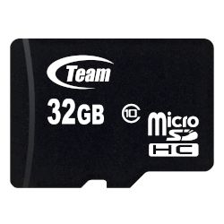 TeamGroup microSDHC Κάρτα Μνήμης 32 GB Class 10 με SD adapter