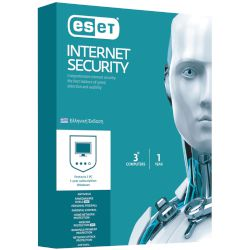 Eset Internet Security 3 άδειες, 1 έτος