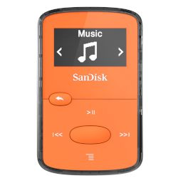 SanDisk MP3 Clip Jam 8 GB Πορτοκαλί
