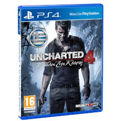 Sony Uncharted 4 A Thiefs End Playstation 4
