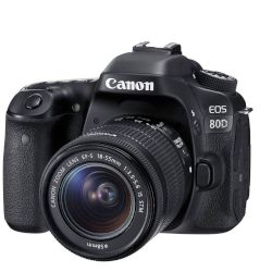 Canon Digital Camera EOS-80D 18 55 IS STM