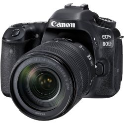 Canon Digital Camera EOS-80D 18-135 Nano USM