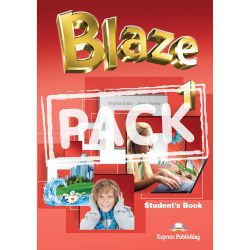 Blaze 1 Students Book With Iebook