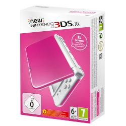 Nintendo 3DS  Xl 4GB Pink White