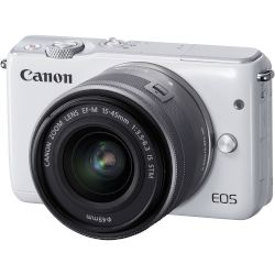 Canon Mirrorless EOS M10 EOS M10 15-45mm IS Λευκό
