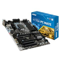 MSI Motherboard H170A PC Mate (H170/1151/DDR4)
