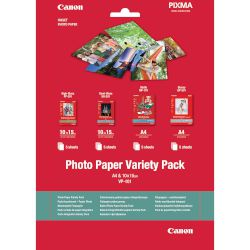 Canon Χαρτί Photo Paper Variety Pack A4,VP-101