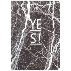 Sentio Σημειωματάριο Yes Marble Black A5