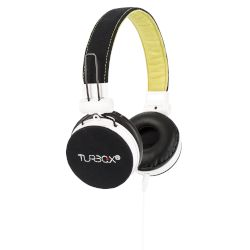 Headphones Turbo-X Hi-Sound Μαύρο
