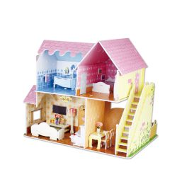 Sentio 3D Puzzle Doll House of Spring 103 τμχ