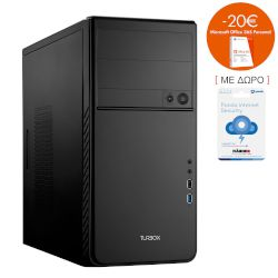 Turbo-X Pegasus PK200 Desktop (Intel Core i5 7400/8 GB/1 TB HDD//Intel HD 630)