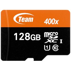 TeamGroup microSDXC Κάρτα Μνήμης 128 GB UHS-1 με SD adapter
