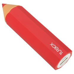 Powerbank 2600 mAh 1 Θέσης Turbo-X Κοραλί 1A,Pencil
