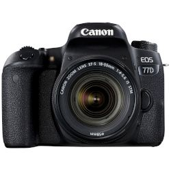 Canon DSLR EOS 77D EF-S 18-55mm IS STM Μαύρο