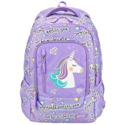 389604ea91 Goomby Τσάντα Σχολική Ανατομική Primo 4 θηκών Unicorn