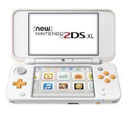 Nintendo 2DS XL White & Orange GR