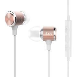 iLuv Handsfree Metal Forge Rose Gold
