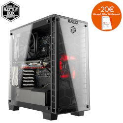 Turbo-X Battlebox Essential II Desktop (Intel Core i5 7500/8 GB/2 TB HDD/16 GB Optane/GTX 1060)