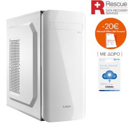 Turbo-X Sphere SK50 Rescue Edition Desktop (Intel Core i3 7100/4 GB/1 TB HDD//Intel HD 630)