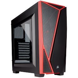 Corsair Spec-04 Black & Red Midi Tower